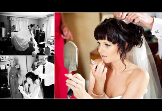 Michael and Helen, Graphistudio Album Layout, Wedding Makeup