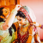 hindu bride getting ready ireland