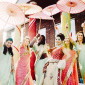 indian bridal party fun pictures