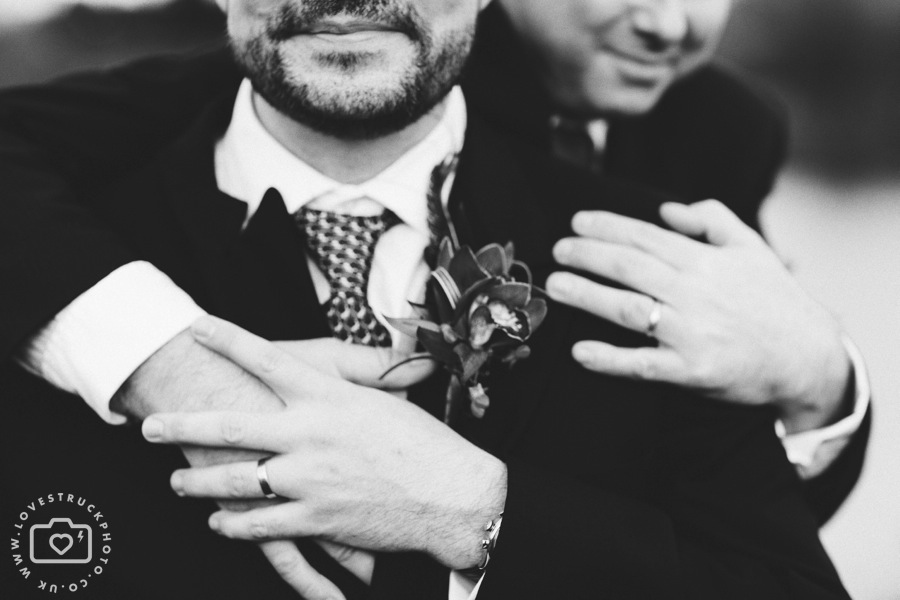 quirky gay wedding photography, civil partnership wedding photography gloucester