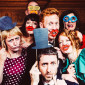 fun wedding photobooth photos