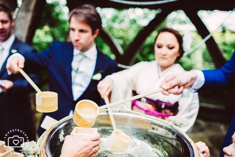 japanese wedding preparations, japanese wedding ceremony in cripps barn