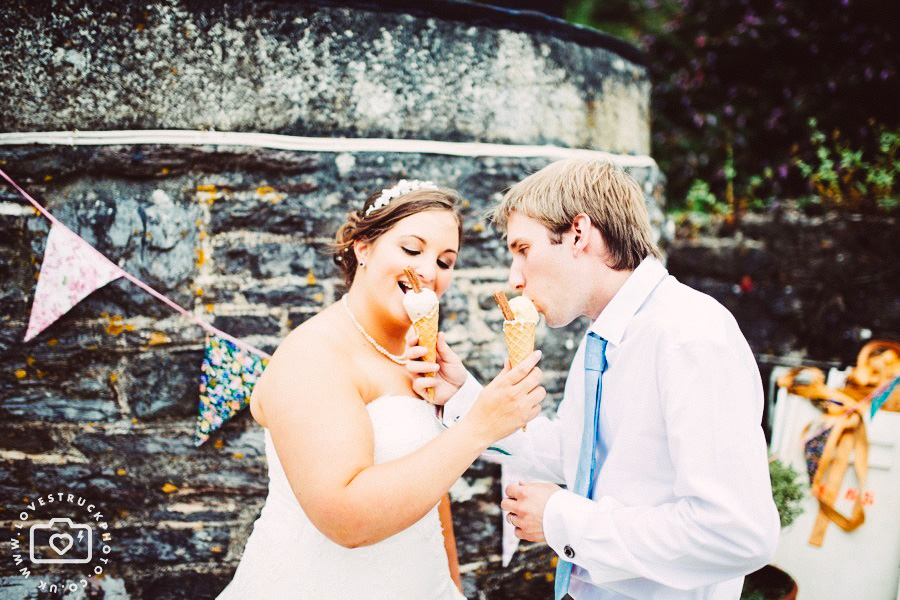 polhawn fort outdoor wedding