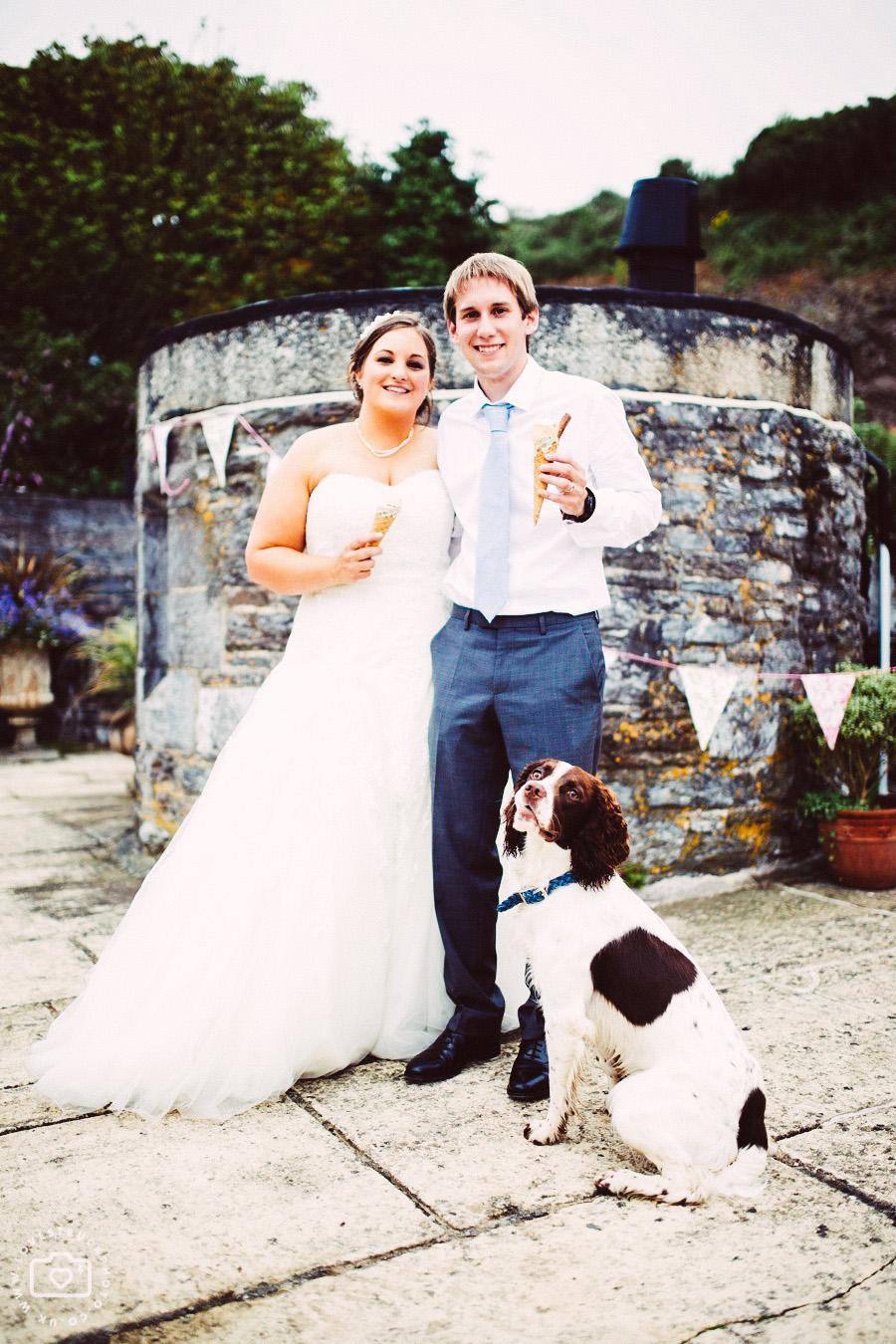 polhawn wedding cornwall photos