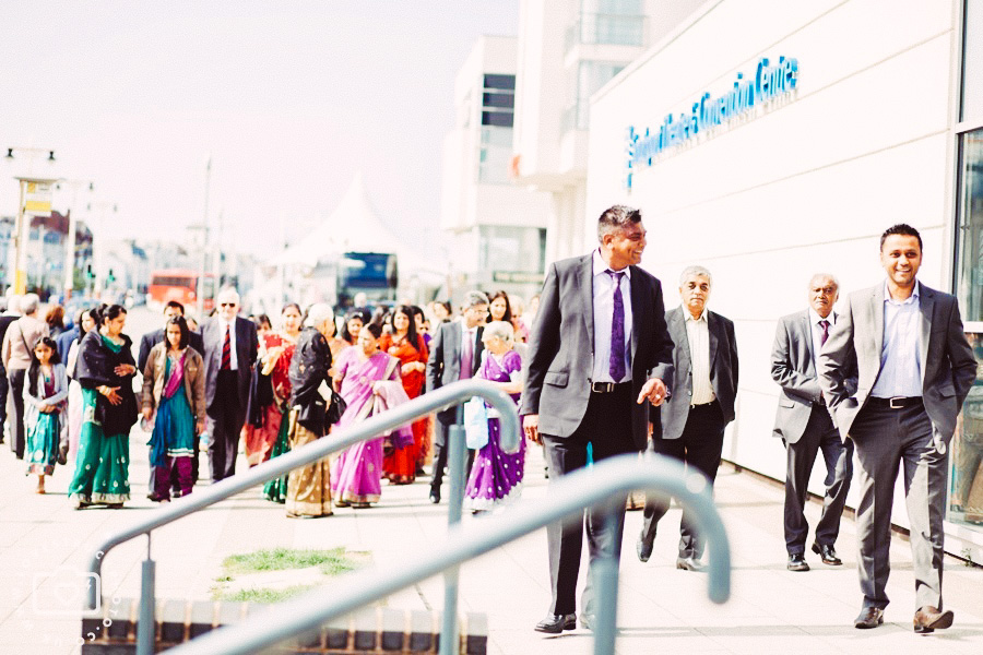 colourful indian wedding, indian wedding in southport convention centre