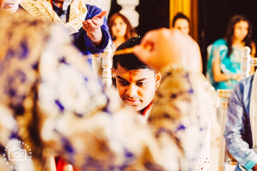 colourful hindu wedding, indian wedding in southport convention centre