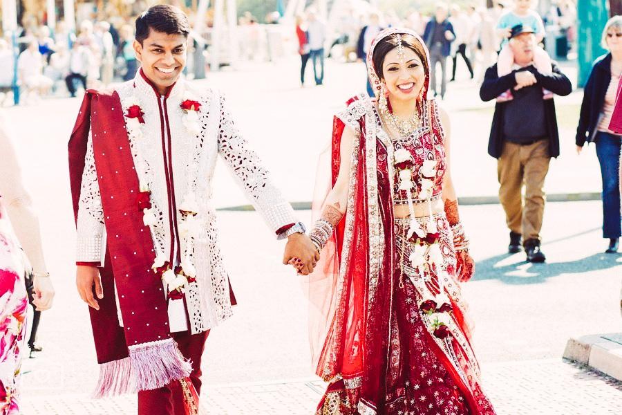 fairground indian wedding, fairground hindu wedding