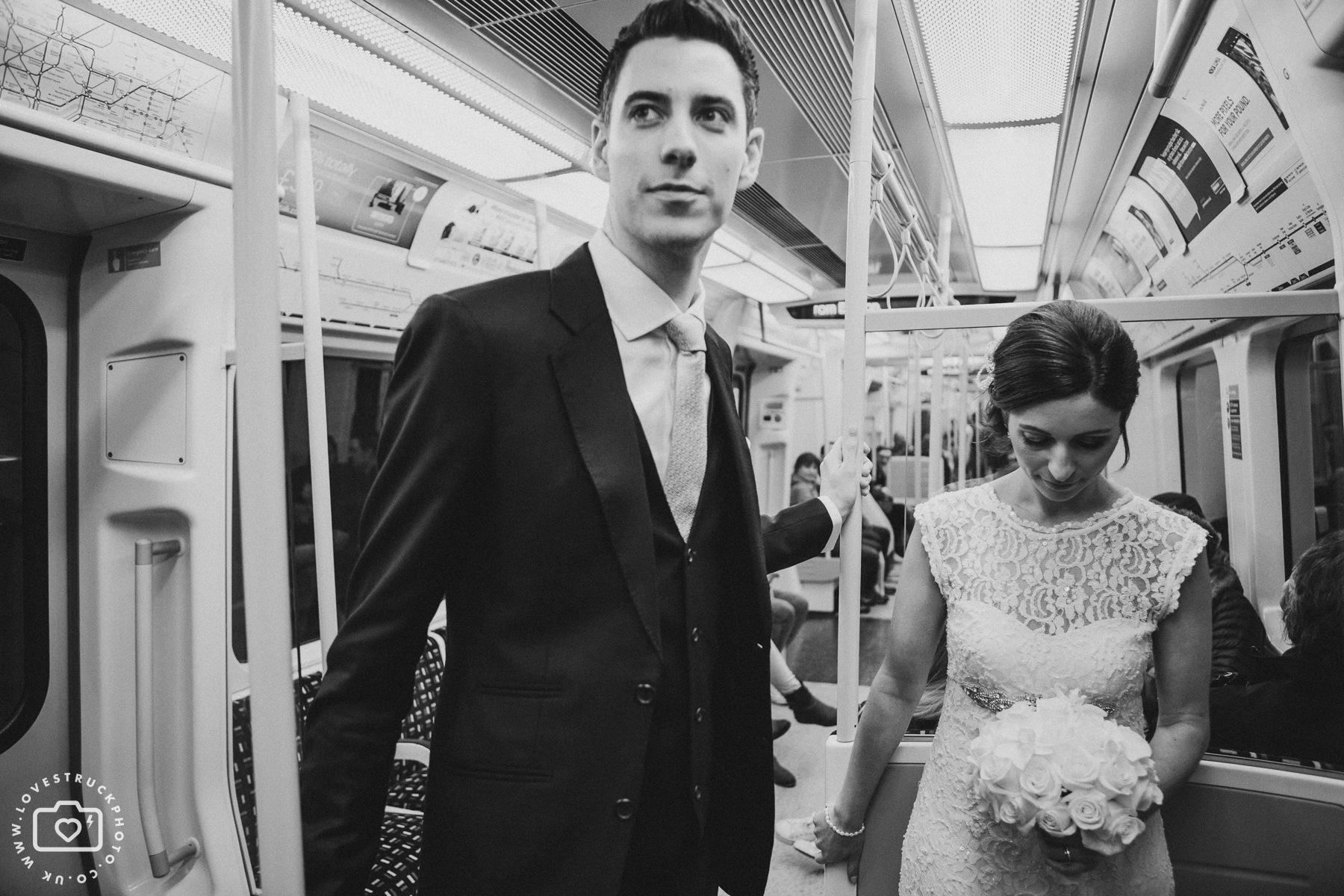 London Underground Metropolitan Line Wedding