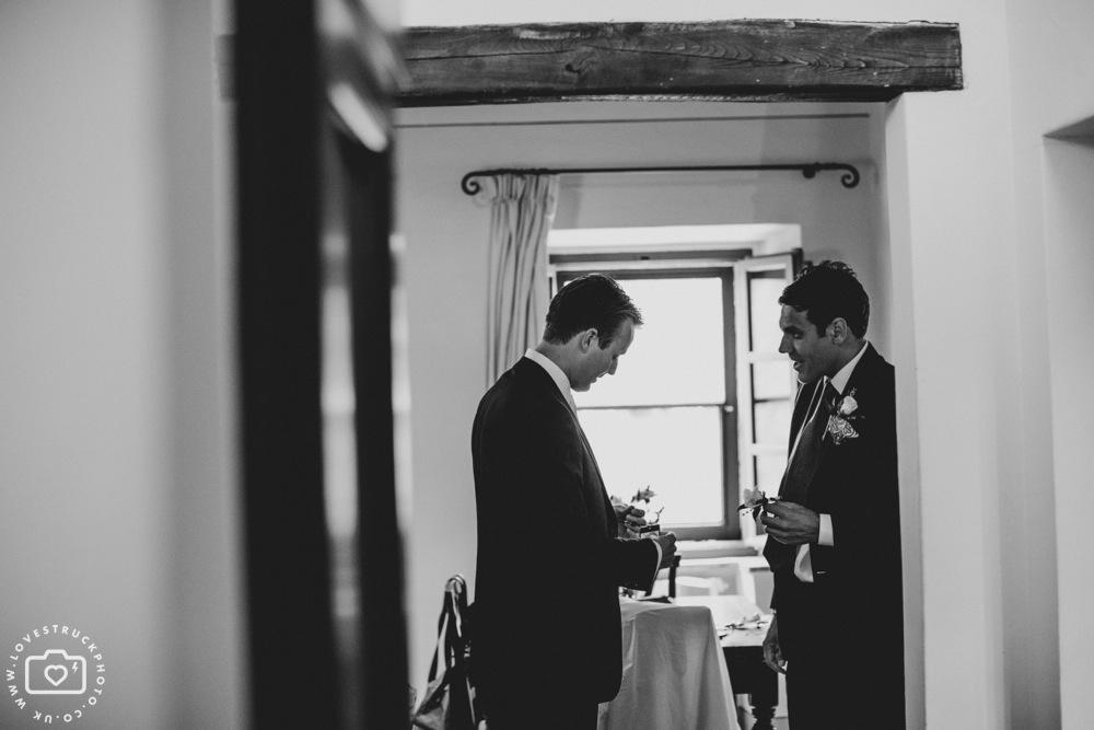 Destination Wedding Photographer, Groom Preparations Italy