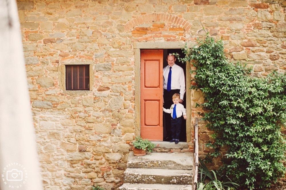 Wedding Ceremony in Castello Di Gargonza