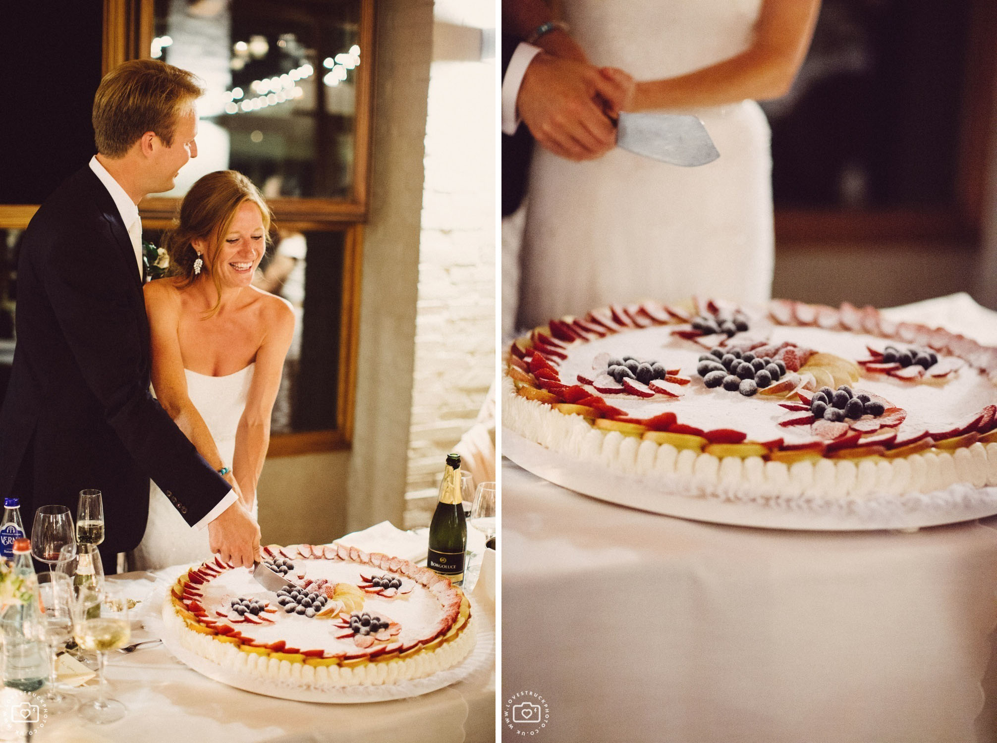 Castello Di Gargonza Wedding Venue Reception