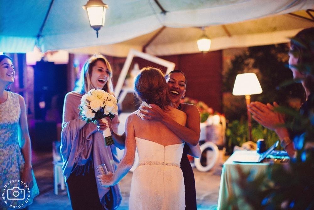 Castello Di Gargonza Wedding Reception