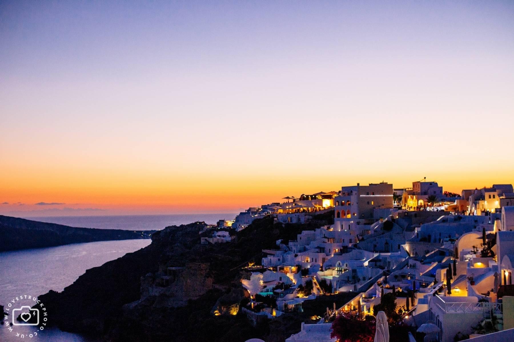 Santorini Oia Sunset Photoshoot