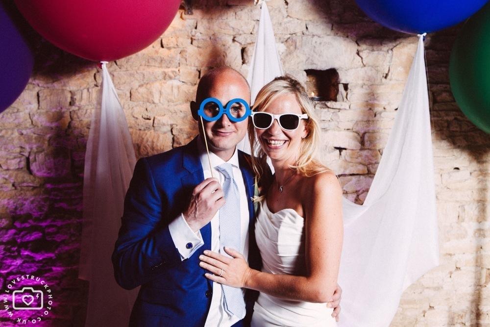 cripps barn wedding, gloucester wedding photography, wedding photobooth, fun wedding photography