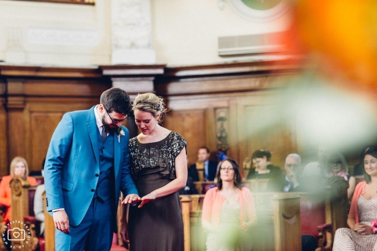Islington Town Hall Registry Wedding