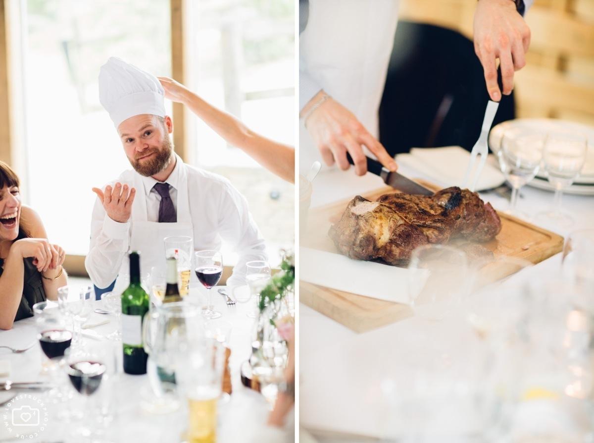 cripps barn photographer, cottswolds wedding cripps barn, wedding reception photos