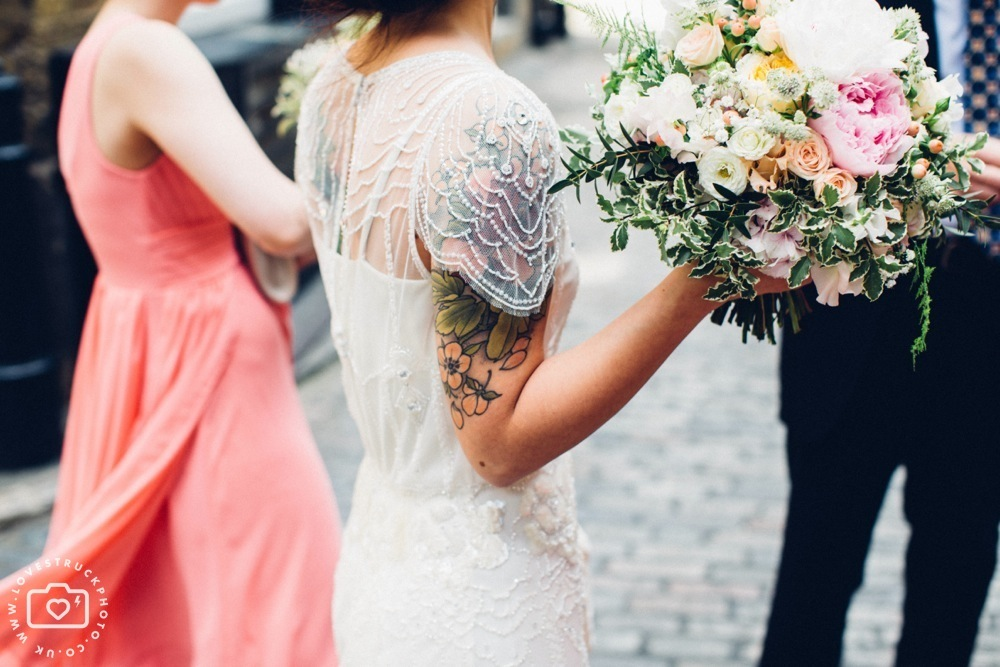 The Brewery London Wedding Photography, rock n roll wedding, quirky wedding in london