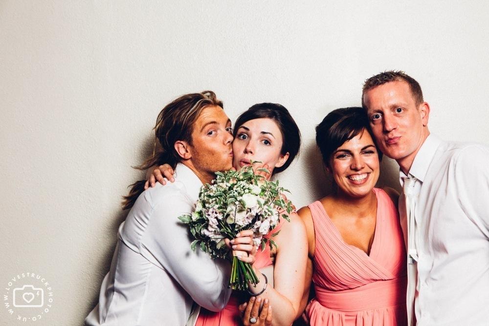 The Brewery Alternative Wedding, quirky wedding montcalm hotel london, alternative wedding couple, tattooed bride photos, barbican london wedding, fun wedding photobooth the brewery