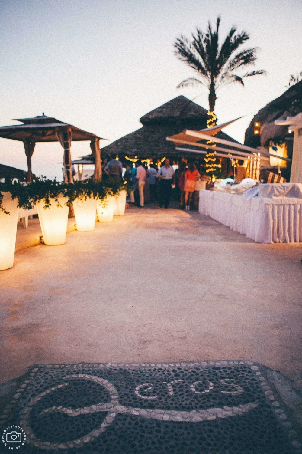 theros wave bar santorini, theros wave bar wedding, destination wedding greece