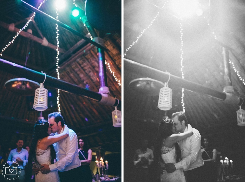 theros wave bar santorini first dance, lovestruckphoto
