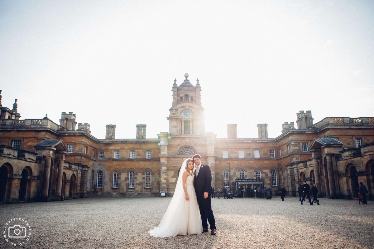 blenheim palace wedding photography, quirky oxfordshire wedding