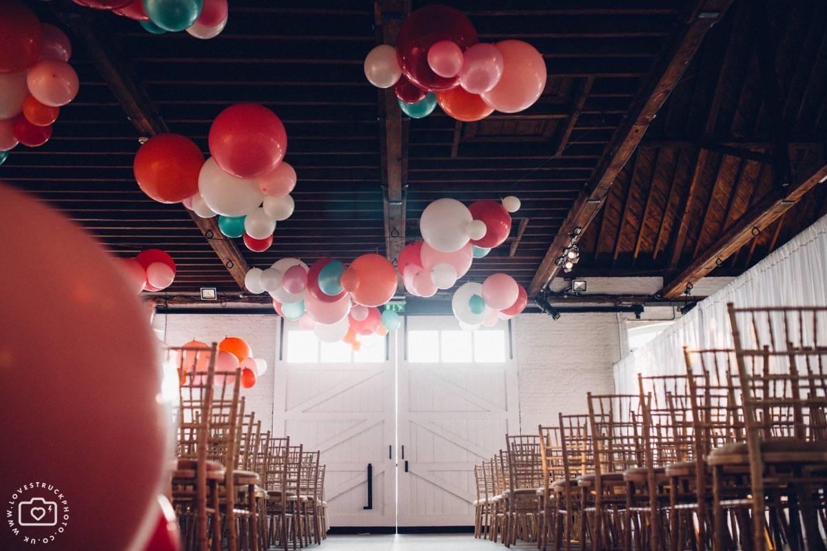 warehouse wedding london, industrial wedding london, trinity buoy wharf wedding reception