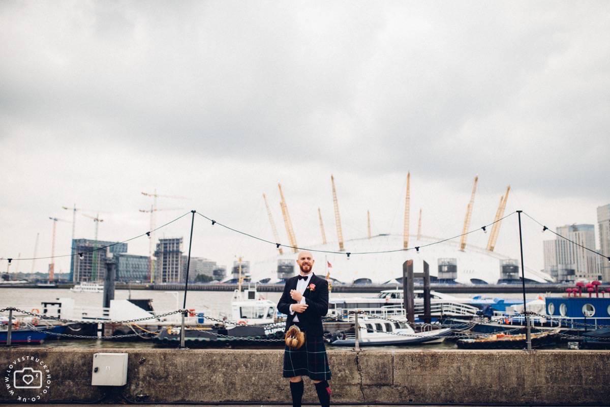 warehouse wedding london, industrial wedding london, trinity buoy wharf wedding