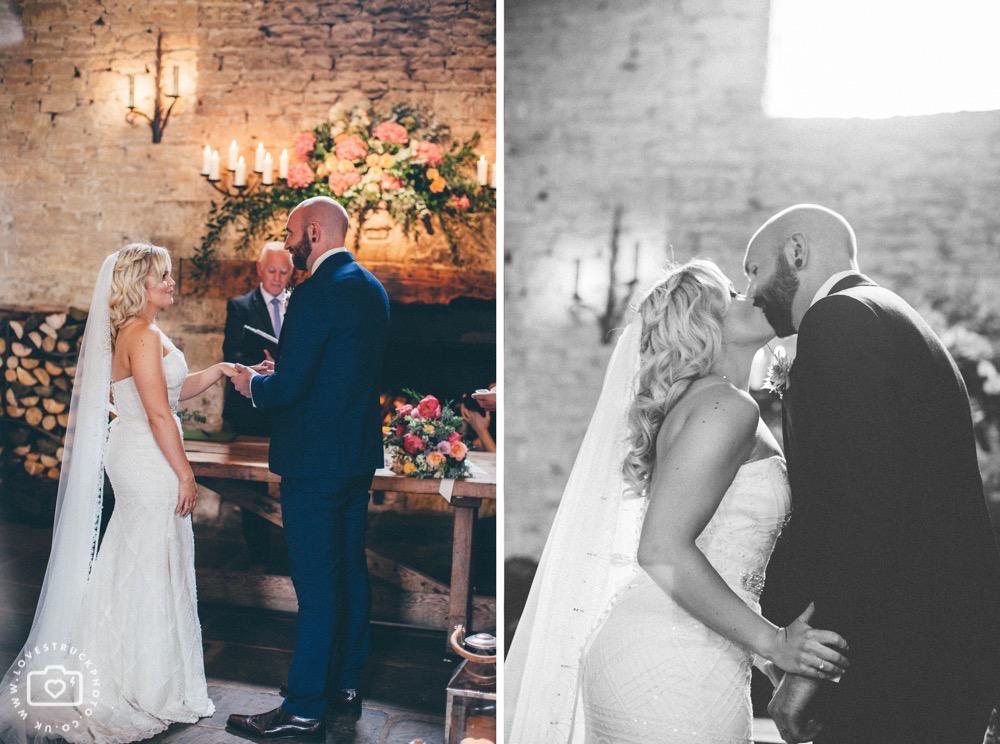 rustic barn wedding, cripps barn wedding, floral wedding ceremony
