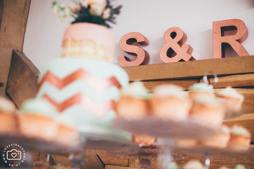 bohemian wedding cake, boho wedding cake, zigzag wedding cake