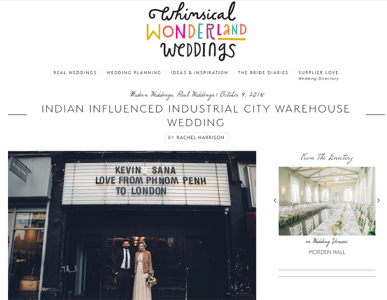 MC Motors wedding, east london wedding, industrial wedding
