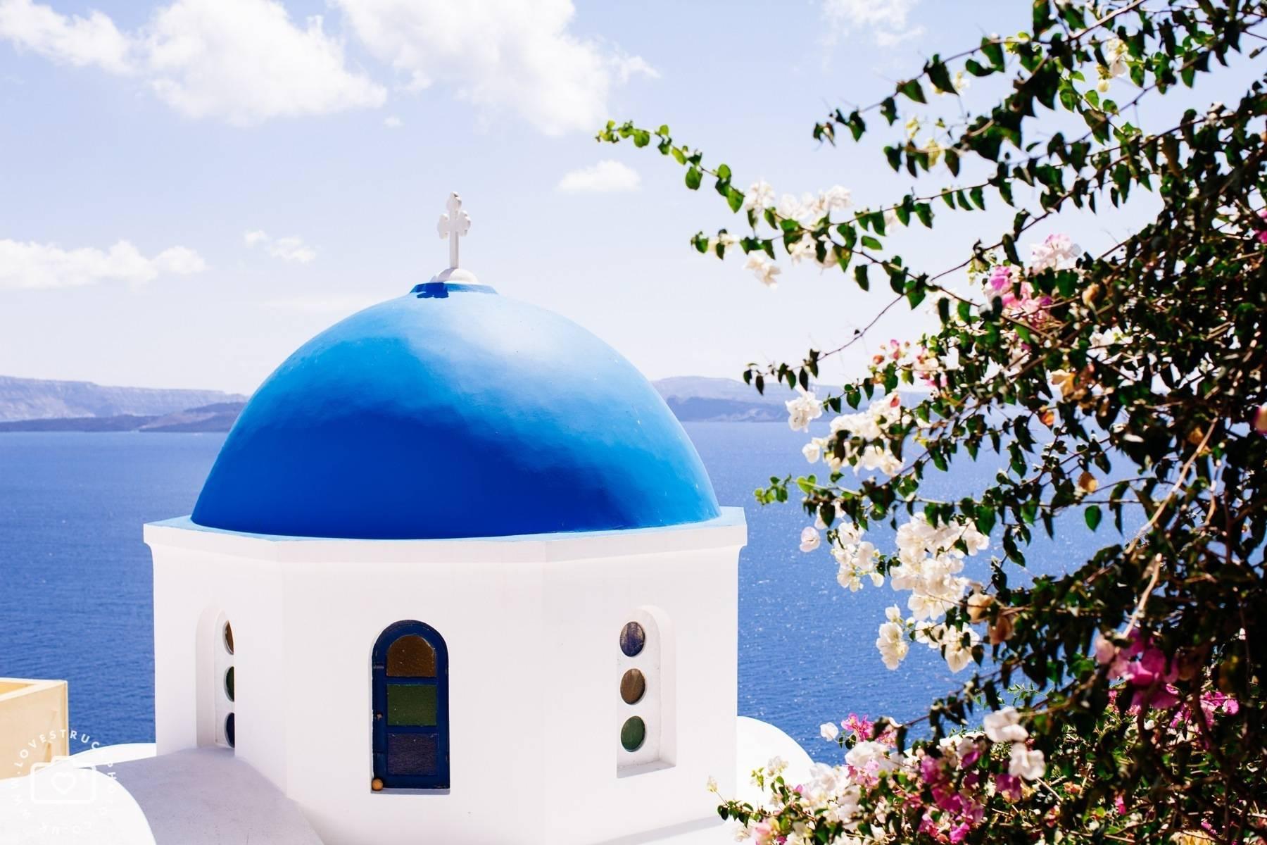 Santorini Destination Post Wedding Shoot