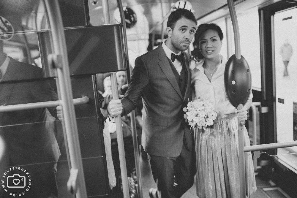 fun wedding photography kensington, quirky wedding in kensington, london wedding photographer