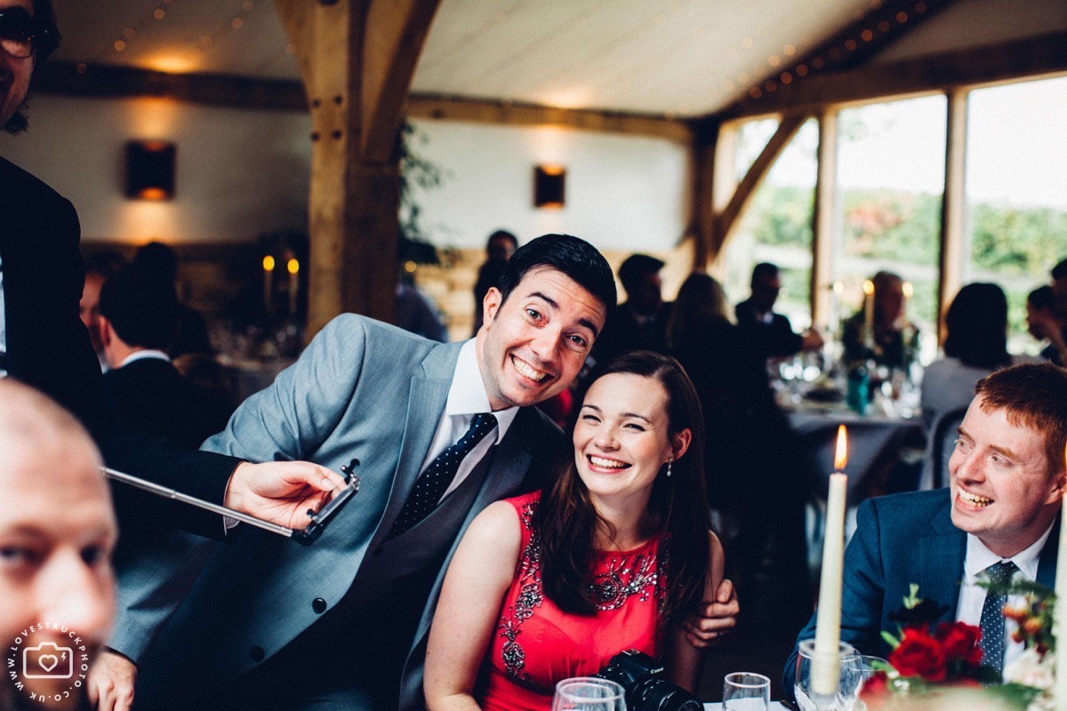 reportage wedding photographer, cripps barn wedding
