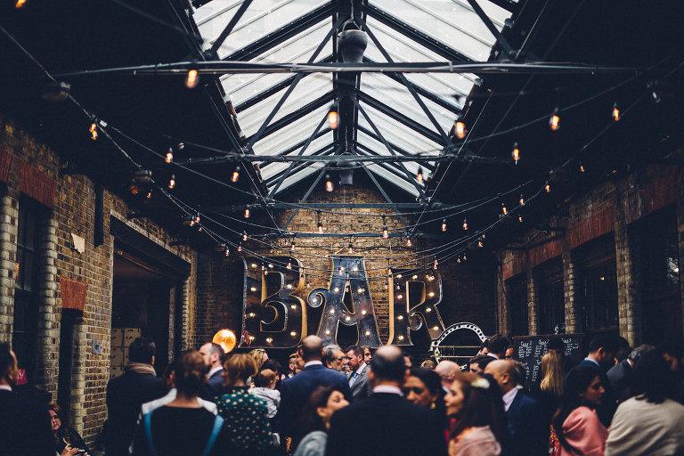 MC Motors Wedding, Hipster Wedding, Industrial Warehouse Wedding, East London